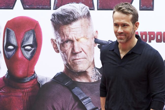 MADRID, SPAIN - MAY 07:  Actor Ryan Reynolds attends 'Deadpool 2' photocall at the Villamagna Hotel on May 7, 2018 in Madrid, Spain.  (Photo by Carlos Alvarez/Getty Images)