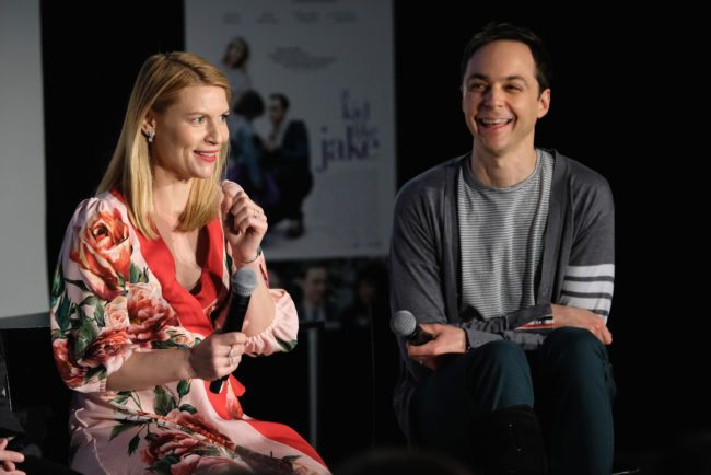"NEW YORK, NY - MAY 20:  Actors Claire Danes and Jim Parsons speak onstage during ""Claire Danes and Jim Parsons's A Kid Like Jake"" on Day Two of the Vulture Festival Presented By AT&T at Milk Studios on May 20, 2018 in New York City.  (Photo by Bryan Bedder/Getty Images for Vulture Festival)"