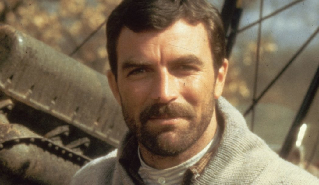 Tom Selleck in is peak bear days