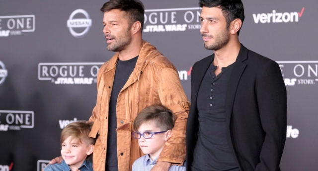 Ricky martin i want my kids to be gay pinknews ricky martin with husband jwan yosef and children frazer harrisongetty m4hsunfo