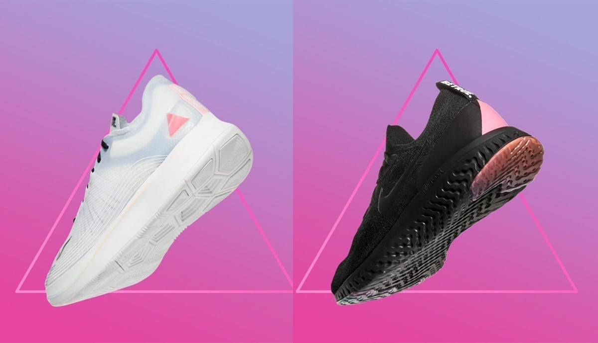 hot sale online e9bc8 5691b Nike stirs controversy by using a pink triangle on shoes in their Pride  collection - PinkNews · PinkNews