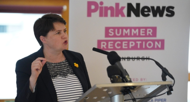 Ruth Davidson (Ashley Coombes)