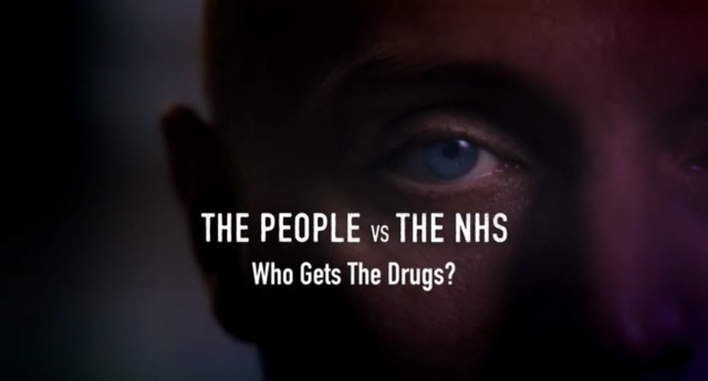 The titlescreen of the documentary (BBC Two)