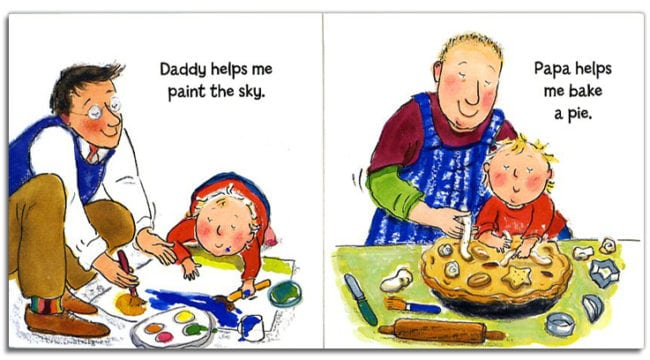Daddy, Papa and Me is one of the books that has been removed from shelves