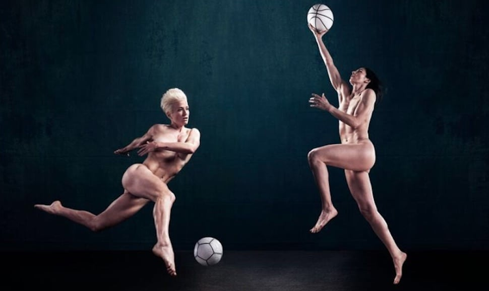 ESPN body issue features same-sex couple for the first time