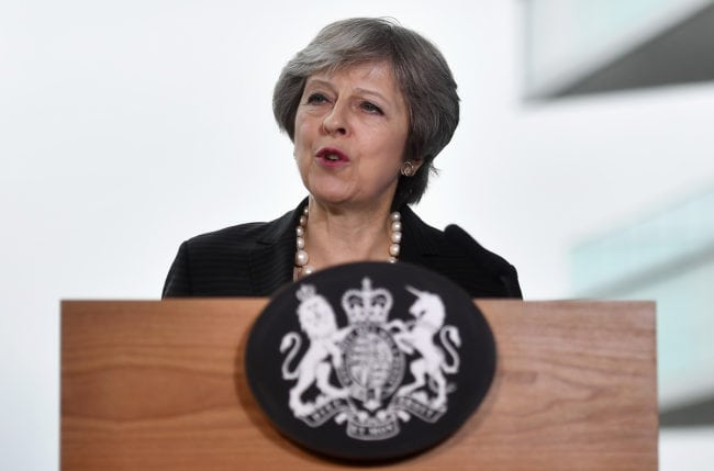 Prime Minister Theresa May has faced calls to sack Scruton