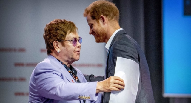 Elton John, Prince Harry, seek to 'smash' HIV stigma