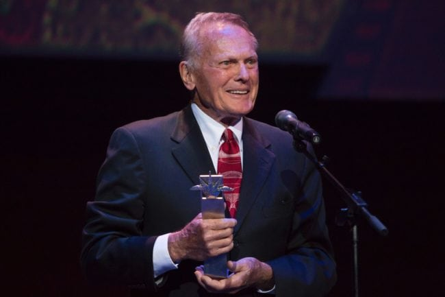 US actor Tab Hunter who died in 2018