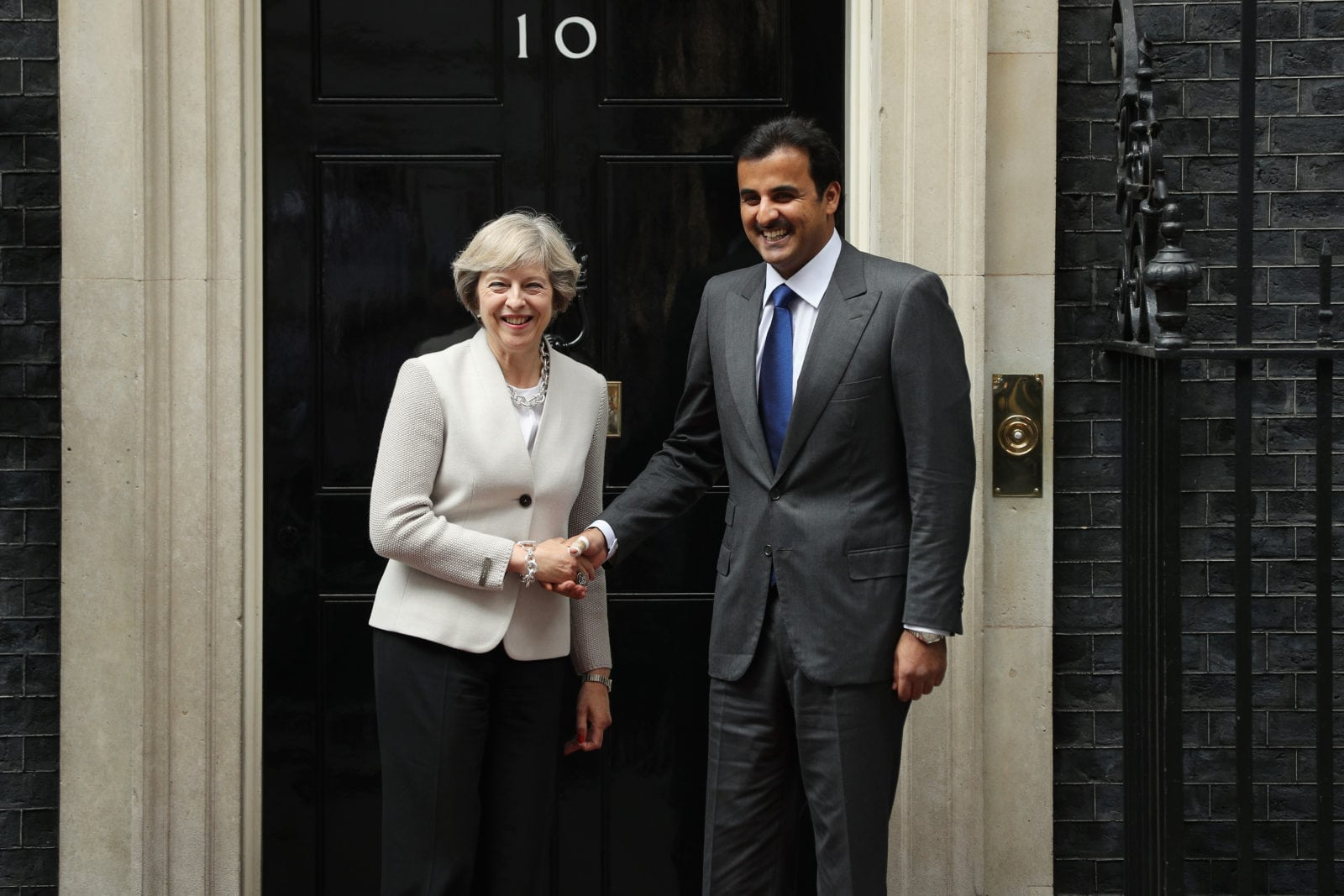 pinknews.co.uk - Sofia Lotto Persio - Theresa May urged to advocate for LGBT people in Qatar during Emir's visit