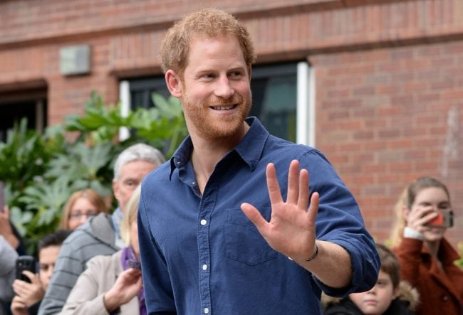 Prince Harry, who is outspoken about HIV stigma