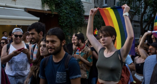 Istanbul's gay, transgender community hold smaller rally, after pride march banned