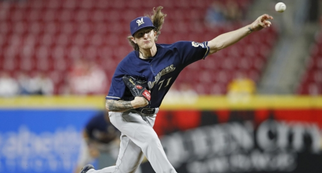 Brewers' Hader takes responsibility for racist, homophobic tweets