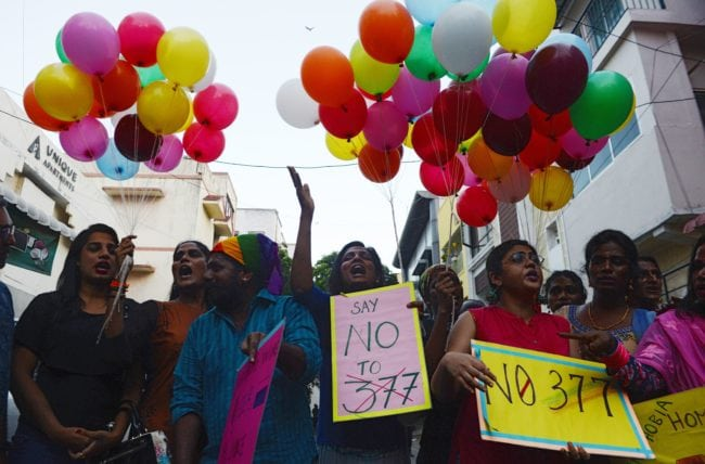 Govt leaves decriminalising gay sex to SC's wisdom