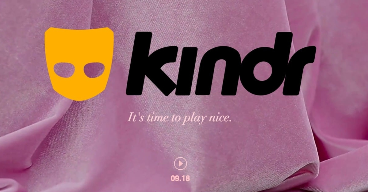 Grindr announces 'kindr' version to be released in September 2018