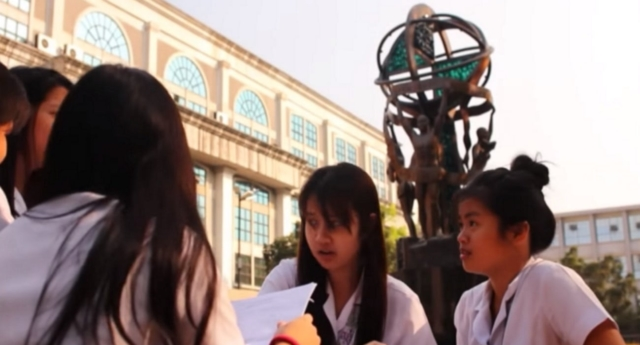 The university is more than 400 years old (University of Santo Tomas/youtube)