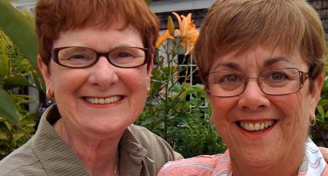 Mary Walsh, 72, and Bev Nance, 68