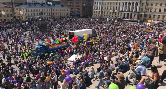 More Than  People Reportedly Attended Helsinki Pride On Saturday Helsinkipride Twitter