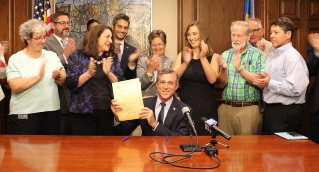 Governor Carney signed the bill into law on July 23 (johncarneyde/twitter)
