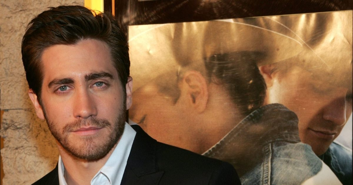 """Actor Jake Gyllenhaal arrives at the premiere of """"Brokeback Mountain"""" at the Mann National Theater on November 29, 2005 in Westwood, California (Photo by Kevin Winter/Getty)"""