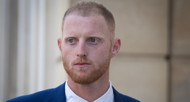 Stokes was charged with affray in January (Matt Cardy/Getty)