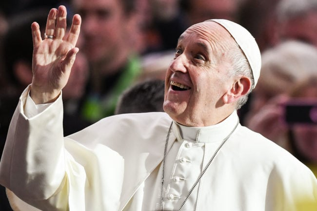 The Pope, who has organised a summit to address the Catholic Church sex abuse scandal