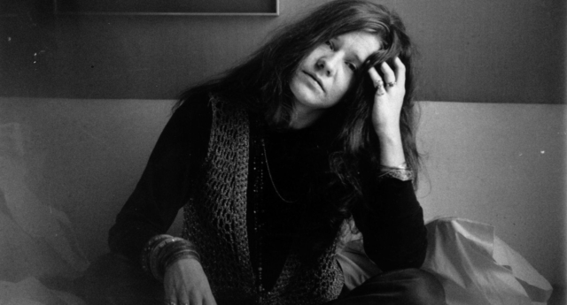 Late rock star Janis Joplin died in 1970, aged 27, from a suspected heroin overdose. (Evening Standard/Getty Images)
