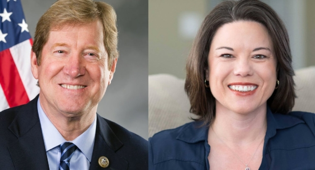 Anti-LGBT Republican Congressman Jason Lewis faces Democrat Angie Craig