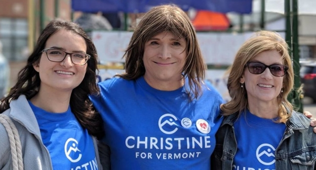 Hallquist has been a CEO for more than a decade (christine hallquist/facebook)