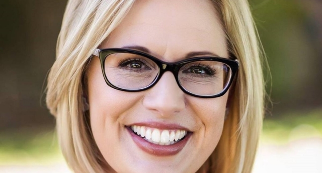 Sinema would be only the second ever openly LGBT+ Senator, if elected (kyrsten sinema/facebook)