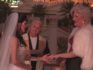 David Emanuel officiates the wedding of Gary (Chichi Monroe) and Carl (Patsy Stoned) (Discovery)