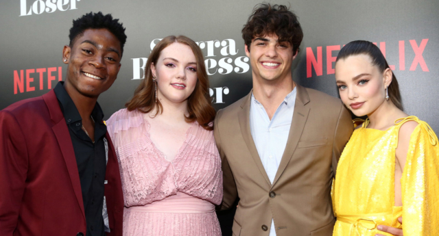 """RJ Cyler, Shannon Purser, Noah Centineo and Kristine Froseth attend the Premiere Of Netflix's """"Sierra Burgess Is A Loser"""" on August 30, 2018 in Hollywood, California (Tommaso Boddi/Getty)"""
