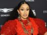 "Cardi B was labelled a ""bully"" for the meme (Dimitrios Kambouris/Getty)"