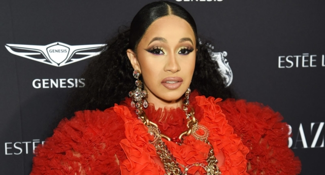 """Cardi B was labelled a """"bully"""" for the meme (Dimitrios Kambouris/Getty)"""