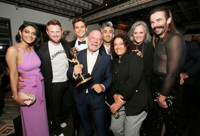 queer eye snatches its first emmy award for outstanding reality show pinknews. Black Bedroom Furniture Sets. Home Design Ideas