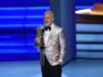 Ryan Murphy accepts the Outstanding Limited Series award for 'The Assassination of Gianni Versace: American Crime Story' (ROBYN BECK/AFP/Getty)