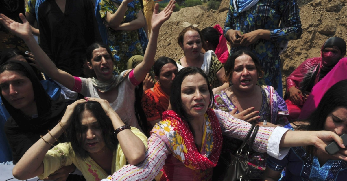 Transgender woman burned alive in Pakistan after resisting sexual assault