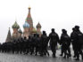Russian police turn out in force at an anti-corruption protest in Moscow's Red Square (VASILY MAXIMOV/AFP/Getty)