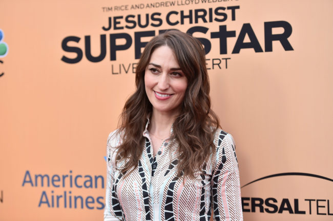 """HOLLYWOOD, CA - MAY 21: Singer Sara Bareilles attends an FYC Event for NBC's """"Jesus Christ Superstar Live in Concert"""" at the Egyptian Theatre on May 21, 2018 in Hollywood, California. (Photo by Alberto E. Rodriguez/Getty Images)"""