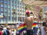 Revellers take part in the annual Gay Pride parade on June 8, 2018 in Tel Aviv, Israel. Tens of thousand of participants from Israel and abroad packed the streets of Tel Aviv for the annual LGBT pride march  (Amir Levy/Getty)