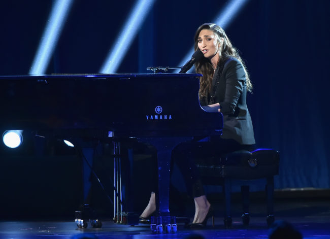 NEW YORK, NY - JUNE 10: Sara Bareilles performs onstage during the 72nd Annual Tony Awards at Radio City Music Hall on June 10, 2018 in New York City. (Photo by Theo Wargo/Getty Images for Tony Awards Productions)