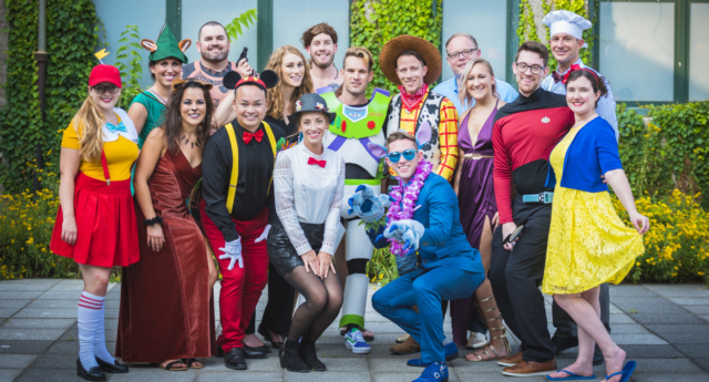 Can you recognise all the characters? (Tiffany Brandt and second photographer Kip Gire/Tiffany Brandt Photography)