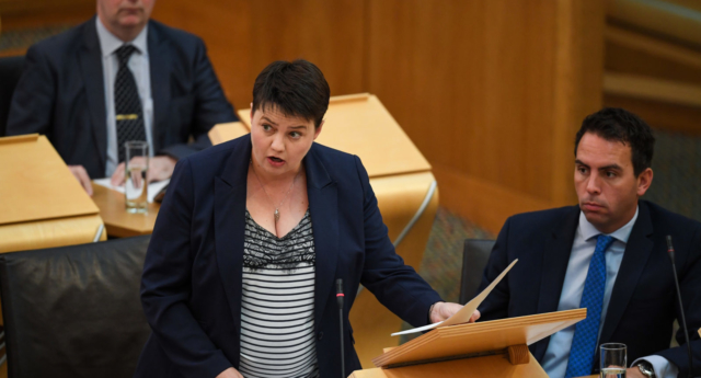 Ruth Davidson rules out Conservative leadership 'for sake of relationship'
