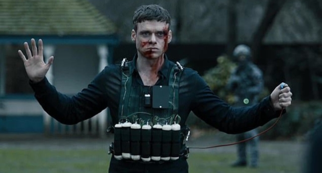 Richard Madden as sergeant David Budd in the final episode of the BBC's Bodyguard. (BBC)