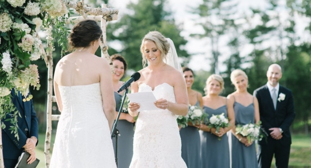 The couple tied the knot this week (mduggan10/twitter)