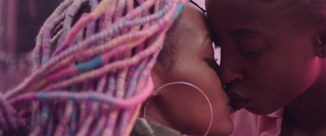 Best gay films: Samantha Mugatsia and Sheila Munyiva play Rafiki characters Kena and Ziki
