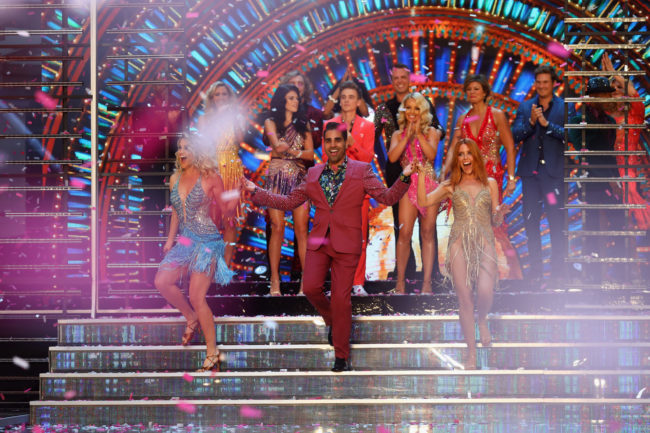 Dr Ranj Singh on Strictly Come Dancing