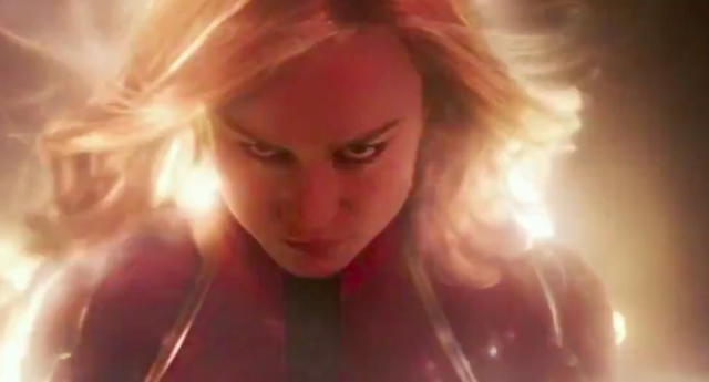 'Captain Marvel' Trailer Unleashes Brie Larson's Superhero Movie Moment