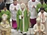 Pope Francis closes the Mass of the Synod of Bishops on Sunday October 28. (Vatican News/Facebook)