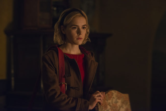 Netflix's Chilling Adventures of Sabrina Trailer's Dazzlingly Dark