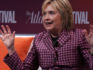 Former U.S. Secretary of State Hillary Clinton participates in a discussion during the 2018 Atlantic Festival October 2, 2018 in Washington, DC. (Alex Wong/Getty)